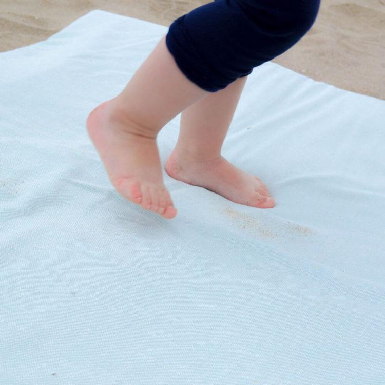 tapis d'éveil d'extérieur à la mer